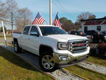2017_GMC_SIERRA_1500 SLT CREW CAB 4X4, WARRANTY, LEATHER, HEATED SEATS, BACKUP CAM, SUNROOF, REMOTE START, 1 OWNER!!_ Norfolk VA