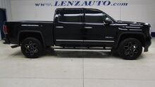 2017_GMC_Sierra 1500_4x4 Crew Cab Denali: 6.2L-SHORT-NAV-MOON-REVERSE CAMERA-WIFI-BOSE-LEATHER-CD PLAYER-4X4_ Fond du Lac WI