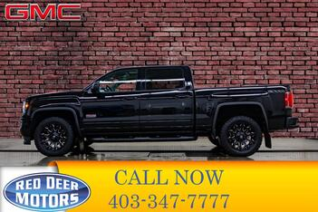 2017_GMC_Sierra 1500_4x4 Crew Cab SLT All Terrain Leather Roof Nav_ Red Deer AB