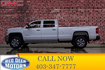 2017_GMC_Sierra 3500HD_4x4 Crew Cab SLE Longbox BCam_ Red Deer AB