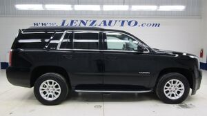 2017 GMC Yukon 4WD SLE: 5.3L-BENCH-THIRD-REVERSE CAMERA-WIFI-BOSE-CLOTH-CD PLAYER-4WD