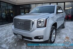 2017_GMC_Yukon_Denali / 4X4 / 6.2L V8 / Auto Start / Heated & Cooled Leather Seats / Heated Steering Wheel / Bose Speakers / Sunroof / Blind Spot & Lane Departure Alert / Rear Entertainment / Rear Captain Chairs / 3rd Row / Seats 7 / 1-Owner_ Anchorage AK