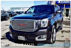 2017_GMC_Yukon_Denali / 4X4 / 6.2L V8 / Heated Front & Rear Leather Seats / Heated Steering Wheel / Navigation / Auto Start / Bose Speakers / Power 3rd Row / Seats 7 / Driver Alert Pkg / Back-Up Camera / Tow Pkg / 1-Owner_ Anchorage AK