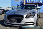 2017 Genesis G80 HTRAC AWD / Front & Rear Heated Leather Seats / Heated Steering Wheel / Navigation / Adaptive Cruise Control / Xenon HID / Apple CarPlay & Andriod Auto / Back Up Camera / Blind Spot & Lane Departure Assist / 1-Owner