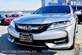 2017 Honda Accord Coupe EX-L V6 Coupe / Automatic / Power & Heated Leather Seats / Auto Start / Sunroof / Bluetooth / Back-Up Camera / LaneWatch Right Side Camera / Cruise Control / 32 MPG / 1-Owner