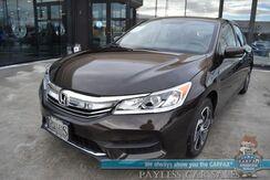 2017_Honda_Accord Sedan_LX / Automatic / Bluetooth / Back Up Camera / Cruise Control / 36 MPG / 1-Owner_ Anchorage AK