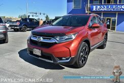 2017_Honda_CR-V_Touring / AWD / Auto Start / Power & Heated Leather Seats / Sunroof / Navigation / Bluetooth / Back Up Camera / Adaptive Cruise / Lane Departure & Collision Alert / Blind Spot Alert / Aluminum Wheels / 33 MPG / 1-Owner_ Anchorage AK