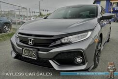 2017_Honda_Civic Hatchback_Sport Touring / Automatic / Front & Rear Heated Leather Seats / Navigation / Sunroof / Auto Start / Bluetooth / Collision Alert / Lane Keeping Assist / Back Up Camera / 36 MPG / 1-Owner_ Anchorage AK