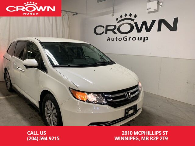 Crown Honda Mcphillips >> Used Honda Odyssey Winnipeg Mb
