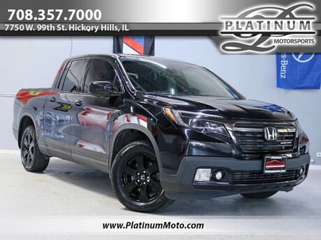 2017 Honda Ridgeline Black Edition 1 Owner Leather Nav Roof Tonneau Hard Cover Tow Loaded Hickory Hills IL