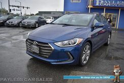 2017_Hyundai_Elantra_Limited / Heated Leather Seats / Sunroof / Navigation / Infinity Speakers / Lane Departure & Blind Spot Alert / Adaptive Cruise Control / Bluetooth / Back Up Camera / 37 MPG / 1-Owner / Only 14k Miles_ Anchorage AK