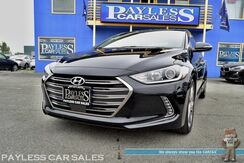 2017_Hyundai_Elantra_Limited Ultimate / Front & Rear Heated Leather Seats / 8in Touchscreen Navigation / Sunroof / Infinity Speakers / Bluetooth / Adaptive Cruise Control / Blind Spot & Lane Departure Assist / Back Up Camera / Low Miles / 37 MPG / 1-Owner_ Anchorage AK