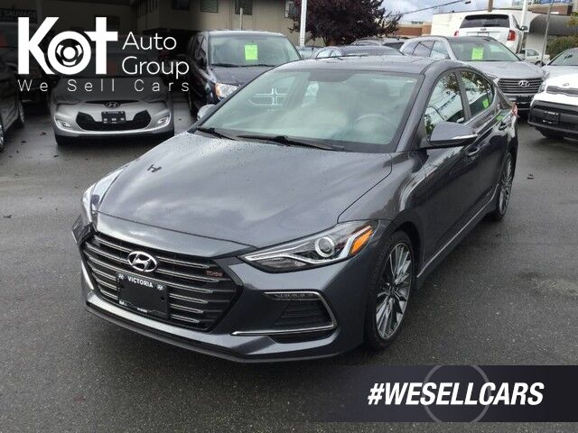 2017 Hyundai Elantra Sport Manual Transmission! Backup Camera, Sunroof