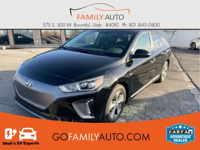2017 Hyundai Ioniq Electric Limited Bountiful UT