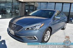 2017_Hyundai_Sonata_2.4L / Automatic / Viper Auto Start / Bluetooth / Cruise Control / USB & Aux Jack / Aluminum Wheels / 36 MPG_ Anchorage AK