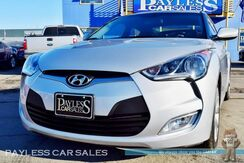 2017_Hyundai_Veloster_Hatchback / Dual Clutch Automatic / Apple CarPlay & Android Auto / Bluetooth / Back-Up Camera / Cruise Control / Aux & USB Jacks / 35 MPG / 1-Owner_ Anchorage AK