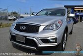 2017 INFINITI QX50 / AWD / Power & Heated Leather Seats / Navigation / Sunroof / Bose Speakers / Bluetooth / 360 View Cameras / HID Headlights / 1-Owner