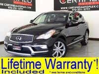 INFINITI QX50 3.7 SUNROOF LEATHER HEATED SEATS REAR CAMERA BLUETOOTH KEYLESS START 2017