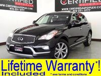 INFINITI QX50 AWD SUNROOF LEATHER HEATED SEATS KEYLESS START REAR A/C POWER LOCKS 2017