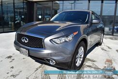 2017_INFINITI_QX70_/ AWD / Heated Leather Seats / Sunroof / Bose Speakers / Keyless Entry & Start / Power Lift Gate / Bluetooth / Back Up Camera / Cruise Control / 22 MPG_ Anchorage AK