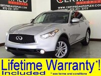 INFINITI QX70 SUNROOF LEATHER HEATED SEATS REAR CAMERA BLUETOOTH KEYLESS START 2017