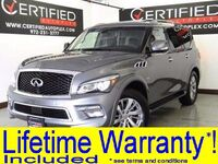 INFINITI QX80 5.6L V8 AWD NAVIGATION LEATHER HEATED SEATS REAR CAMERA PARK ASSIST 2017