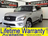 INFINITI QX80 V8 NAVIGATION SUNROOF LEATHER HEATED SEATS REAR CAMERA PARK ASSIST 2017