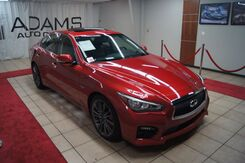 2017_Infiniti_Q50_RED SPORT 400 WITH DRIVER ASSIST AND PREMIUM PACKAGE_ Charlotte NC