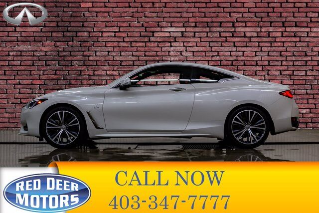 2017 Infiniti Q60 AWD 2.0T Leather Roof Nav BCam Red Deer AB