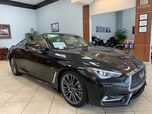 2017 Infiniti Q60 Q60  SPORT WITH RED ROSSO INTERIOR
