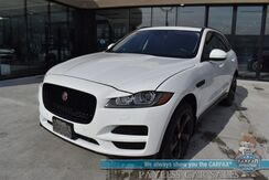 2017_Jaguar_F-PACE_35t Premium / AWD / Supercharged / Power Leather Seats / Blind Spot Alert / Panoramic Sunroof / Navigation / Meridian Speakers / Bluetooth / Back Up Camera / Cruise Control / 23 MPG / Low Miles_ Anchorage AK