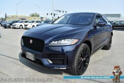 2017_Jaguar_F-PACE_35t R-Sport / AWD / 3.0L Supercharged V6 / Heated Leather Seats & Steering Wheel / Meridian Speakers / Panoramic Sunroof / Navigation / Blind Spot & Lane Departure Alert / Keyless Entry & Start / 1-Owner_ Anchorage AK