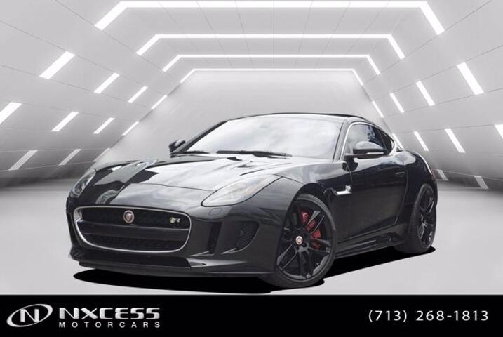 2017 Jaguar F-TYPE V8 5.0 Super Charger R Coupe Low Miles Factory Warranty. Houston TX