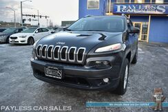 2017_Jeep_Cherokee_Latitude / 4X4 / 3.2L V6 / Auto Start / Heated Seats & Steering Wheel / Sunroof / Navigation / Alpine Speakers / Blind Spot Alert / Bluetooth / Back Up Camera / Tow Pkg / 28 MPG / 1-Owner_ Anchorage AK