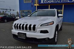 2017_Jeep_Cherokee_Latitude / 4X4 / Automatic / Front Heated Seats / Heated Steering Wheels / Auto Start / Uconnect Bluetooth / Back Up Camera / Cruise Control / USB & AUX Jacks / Block Heater / Bi-Xenon HID Headlights / 1-Owner_ Anchorage AK