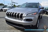 2017 Jeep Cherokee Latitude / AWD / 3.2L V6 / Automatic / Power Driver's Seat / Uconnect Bluetooth / Back Up Camera / Xenon HID Headlights / Cruise Control / Blind Spot Monitor / 28 MPG / Only 12k Miles / 1-Owner