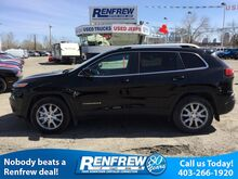2017_Jeep_Cherokee_Limited, Heated & Cooled Leather Seats, Panoroof, Backup Camera_ Calgary AB