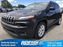 2017_Jeep_Cherokee_North 3.2L V6, Leather Wrapped Steering Wheel, Keyless Entry, 8.4'' Touchscreen_ Calgary AB