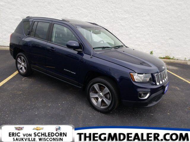 2017 Jeep Compass High Altitude FWD 2.4L w/Sunroof HtdLeather RearCamera Milwaukee WI