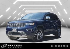 Jeep Grand Cherokee 3.6L Limited Leather Backup Camera Warranty. 2017