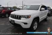 2017 Jeep Grand Cherokee Laredo / 4WD / Power Driver's Seat / Bluetooth / Cruise Control / Keyless Entry & Start / Aluminum Wheels / Low Miles / 25 MPG / 1-Owner
