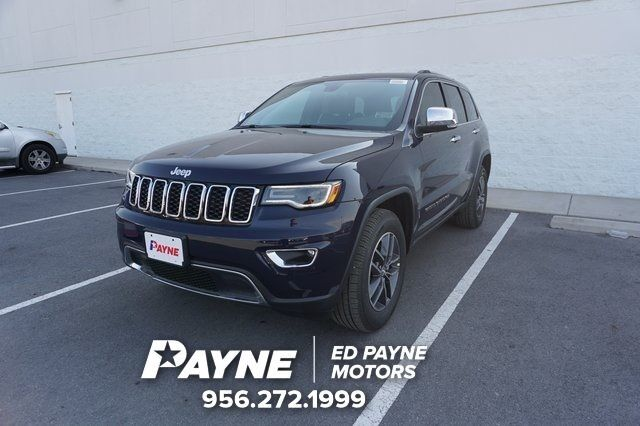 2017 Jeep Grand Cherokee Limited Weslaco TX 20443288