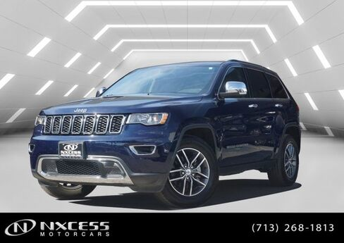 2017 Jeep Grand Cherokee Limited V6 3.6L Low Miles Houston TX