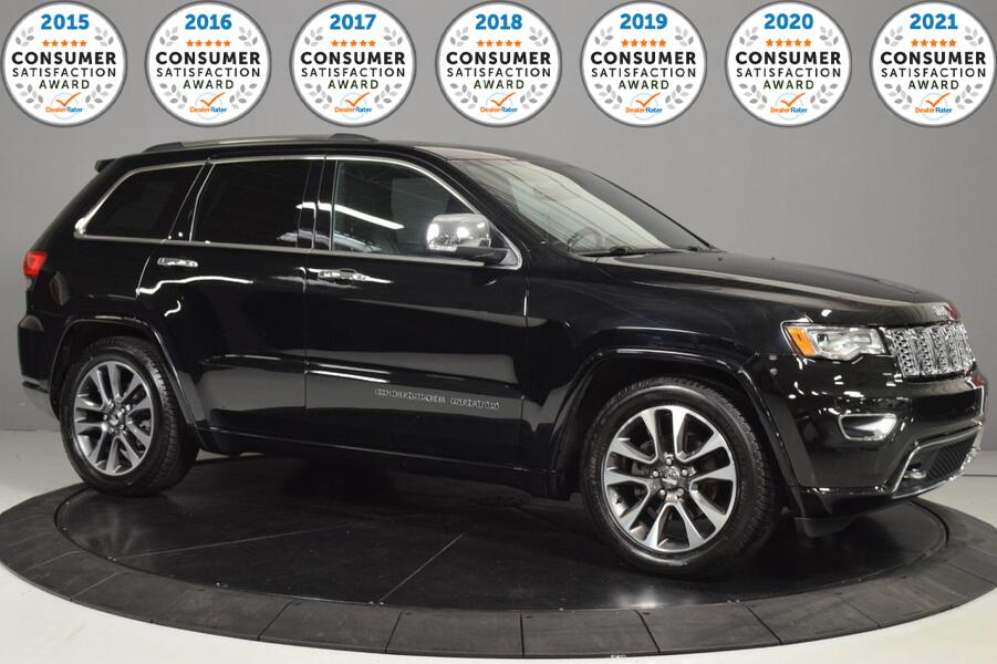 2017_Jeep_Grand Cherokee_Overland_ Glendale Heights IL