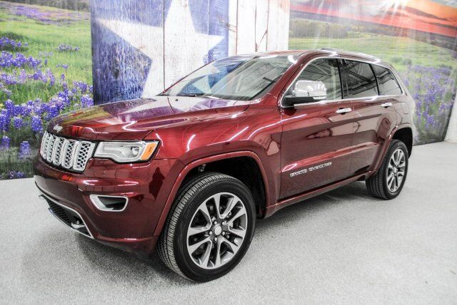 2017 jeep grand cherokee overland new braunfels tx 22537659. Black Bedroom Furniture Sets. Home Design Ideas