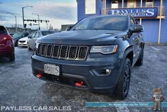 2017_Jeep_Grand Cherokee_Trailhawk / 4X4 / Heated & Cooled Suede Seats / Heated Steering Wheel / Navigation / Sunroof / Adaptive Cruise Control / Parallel Park Assist / Blind Spot Alert / Auto Start / Bluetooth / Tow Pkg / 1-Owner_ Anchorage AK