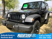 Jeep Wrangler Sport Willys, Alpine Premium Audio, Satellite Radio, Hill Start Assist 2017
