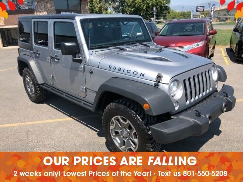 Superb 2017 Jeep Wrangler Unlimited Rubicon Salt Lake City UT