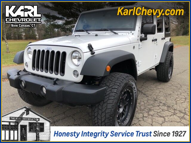 2017 Jeep Wrangler Unlimited Sport New Canaan CT