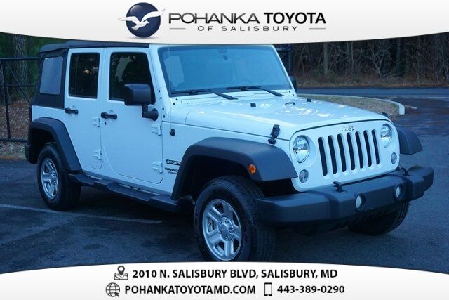 2017 Jeep Wrangler Unlimited Sport Salisbury Md